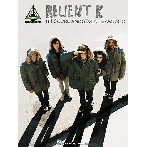 Hal Leonard Relient K - Five Score and Seven Years Ago: Guitar Recorded Version Songbook