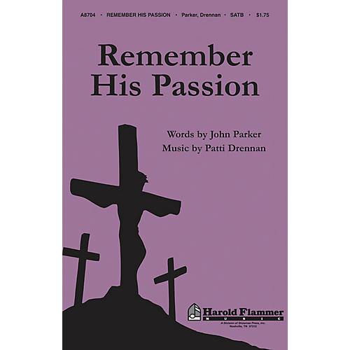 Shawnee Press Remember His Passion SATB composed by John Parker-thumbnail