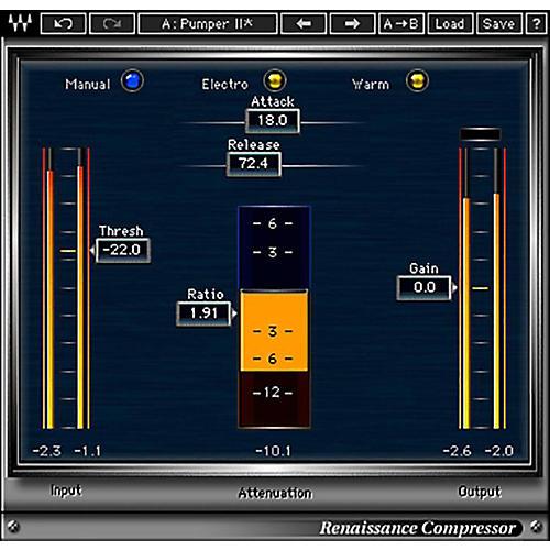 Waves Renaissance Compressor Native/TDM/SG Software Download-thumbnail