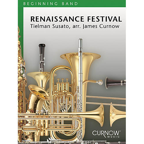 Curnow Music Renaissance Festival (Grade 1.5 - Score Only) Concert Band Level 1.5 Arranged by James Curnow-thumbnail