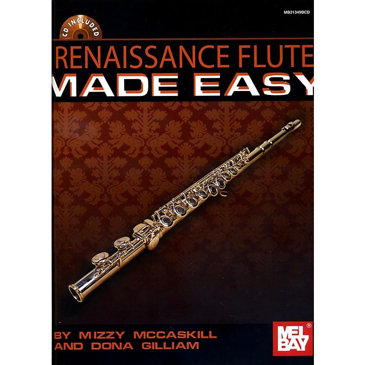 Mel BayRenaissance Flute Solos Made Easy Book/Cd Set