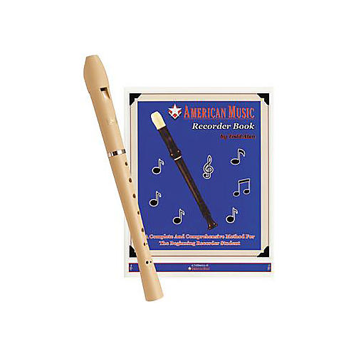 ZZZ Renaissance Ivory Recorder with Recorder Method Book