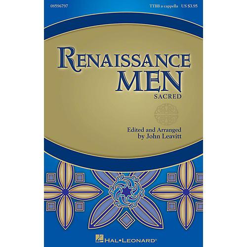 Hal Leonard Renaissance Men (Choral Collection) TTBB A Cappella arranged by John Leavitt-thumbnail