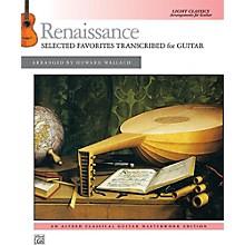 Alfred Renaissance: Selected Favorites Transcribed for Guitar - Book Intermediate