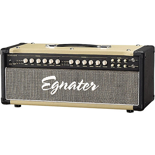 Egnater Renegade 65W Tube Guitar Amp Head Black, Beige