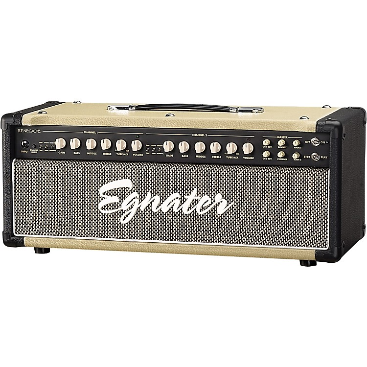 Egnater Renegade 65W Tube Guitar Amp Head Black/Biege