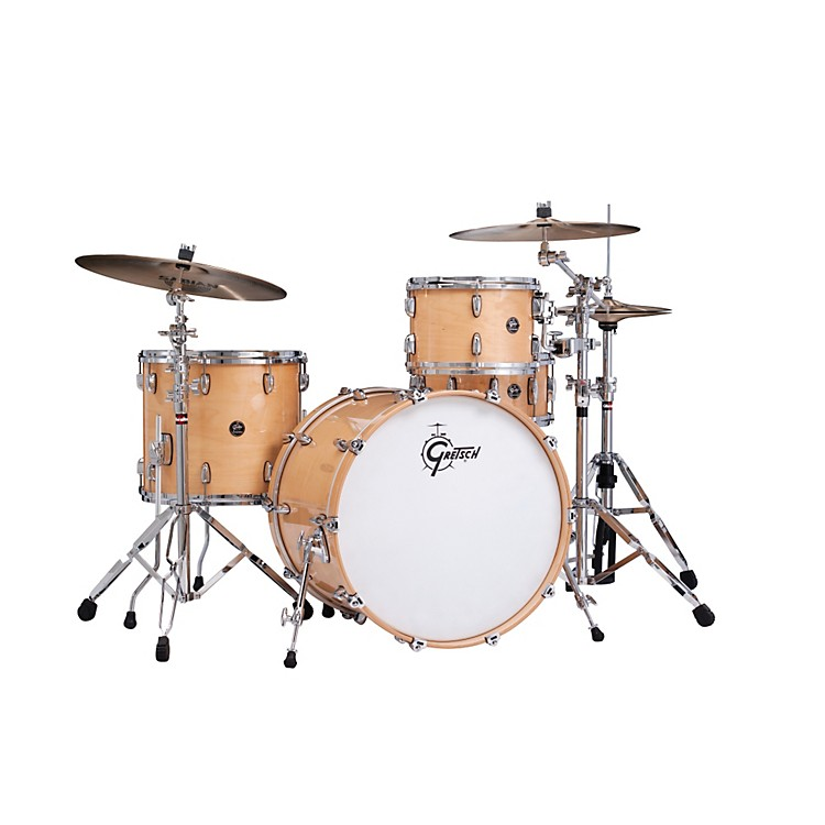 Gretsch DrumsRenown Series 3-Piece Shell Pack with 22 inch Bass Drum