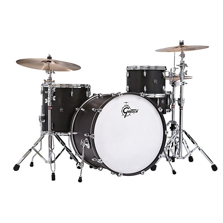 Gretsch DrumsRenown Series 3-Piece Shell Pack with 24 inch Bass DrumSatin Black