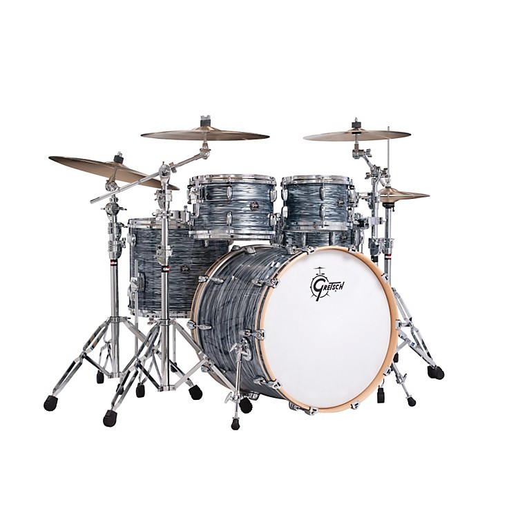 Gretsch Drums Renown Series 4-Piece Shell Pack with 22 inch Bass Drum Silver Oyster Pearl