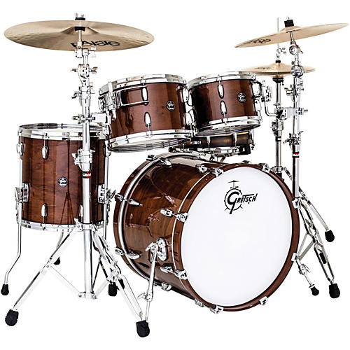 Gretsch Drums Renown Walnut 4-Piece Groove Shell Pack-thumbnail