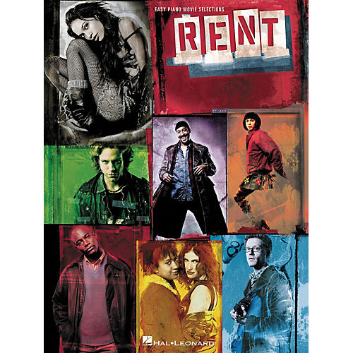 Hal Leonard Rent - Movie Selections For Easy Piano