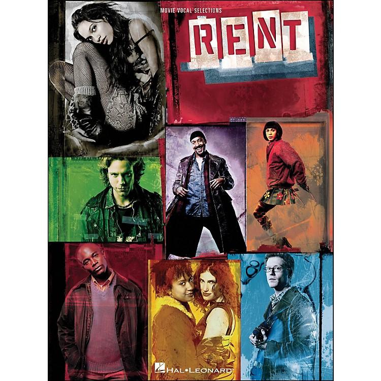 Hal LeonardRent - Movie Vocal Selections arranged for piano, vocal, and guitar (P/V/G)