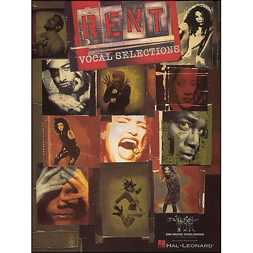 Hal Leonard Rent arranged for piano, vocal, and guitar (P/V/G)-thumbnail
