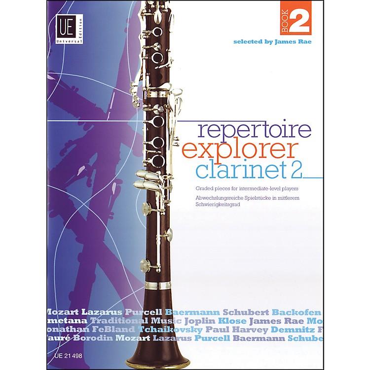 Carl FischerRepertoir Explorer - Clarinet Vol.2 Book