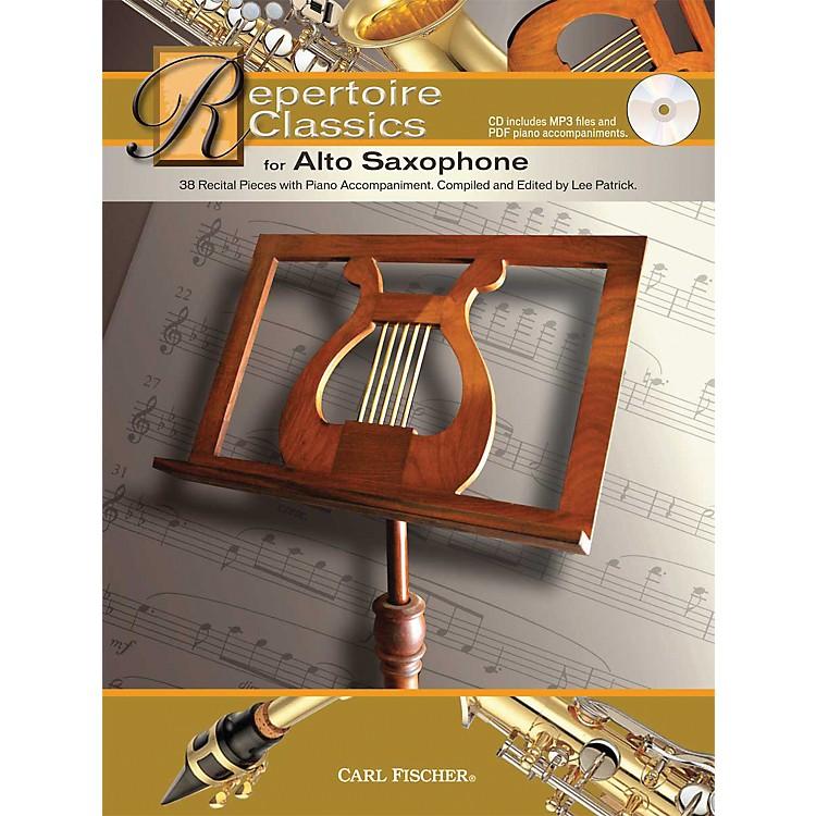 Carl FischerRepertoire Classics for Alto Saxophone (Book/ Data MP3 CD)