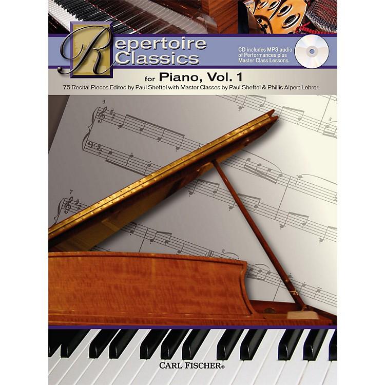 Carl FischerRepertoire Classics for Piano, BookVolume 1