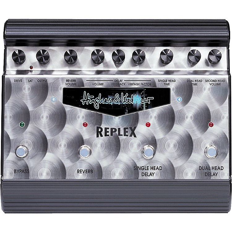 Hughes & Kettner Replex Tube-Driven Tape Delay Simulator