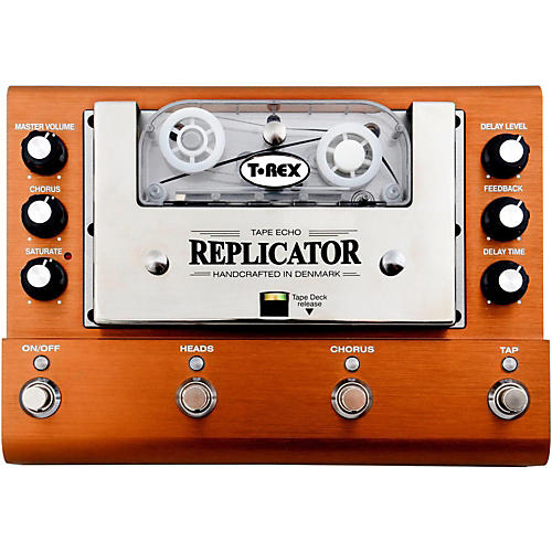 t rex engineering replicator analog tape delay guitar effects pedal musician 39 s friend. Black Bedroom Furniture Sets. Home Design Ideas