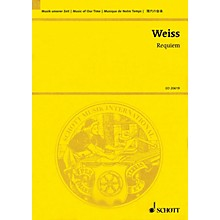 Schott Requiem Study Score Series Softcover Composed by Harald Weiss