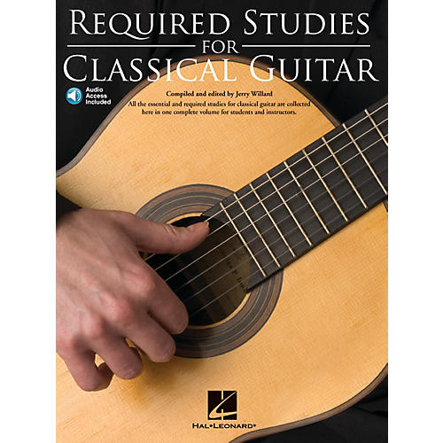 Music Sales Required Studies for Classical Guitar Music Sales America Series Softcover with CD-thumbnail