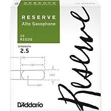 D'Addario Woodwinds Reserve Alto Saxophone Reeds 10 Pack Strength 2.5