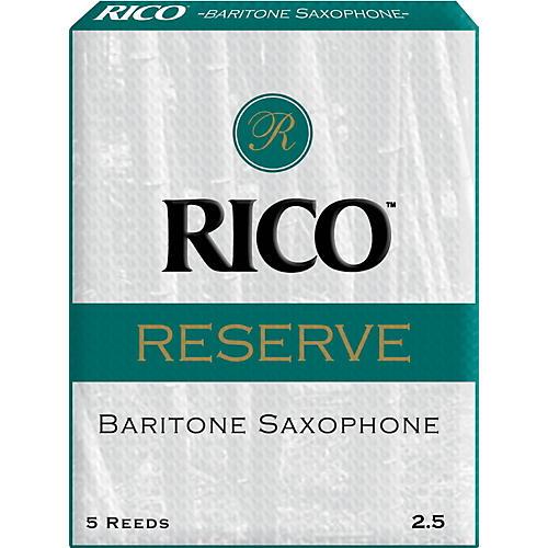 Rico Reserve Baritone Saxophone Reeds Strength 2.5