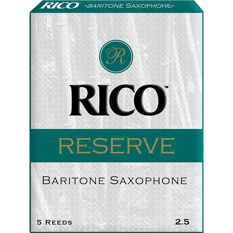 Rico Reserve Baritone Saxophone Reeds Strength 2.5