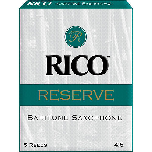 Rico Reserve Baritone Saxophone Reeds Strength 4.5