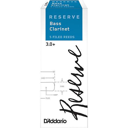 D'Addario Woodwinds Reserve Bass Clarinet Reeds 5-Pack-thumbnail
