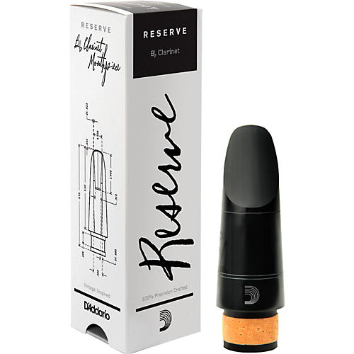 D'Addario Woodwinds Reserve Bb Clarinet Mouthpiece X5, 1.05 mm