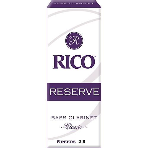 Rico Reserve Classic Bass Clarinet Reeds Strength 3.5