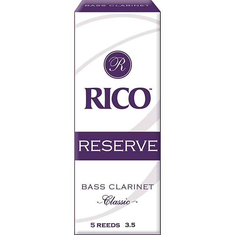 RicoReserve Classic Bass Clarinet ReedsStrength 3.5