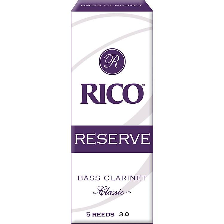 RicoReserve Classic Bass Clarinet ReedsStrength 4