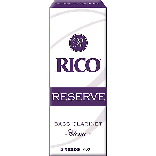 Rico Reserve Classic Bass Clarinet Reeds Strength 4-thumbnail