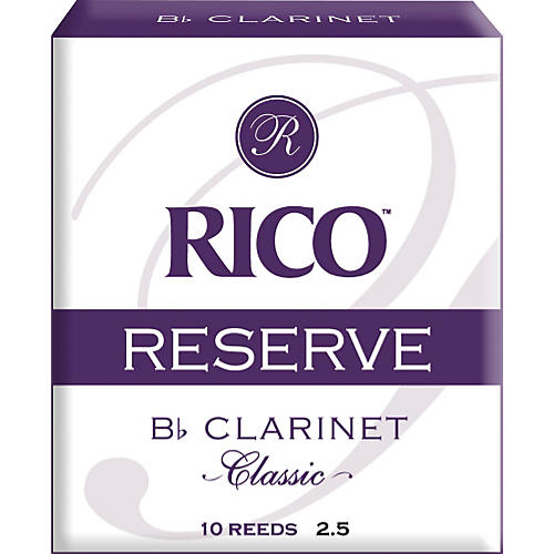 Rico Reserve Classic Bb Clarinet Reeds
