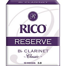 Rico Reserve Classic Bb Clarinet Reeds Strength 3