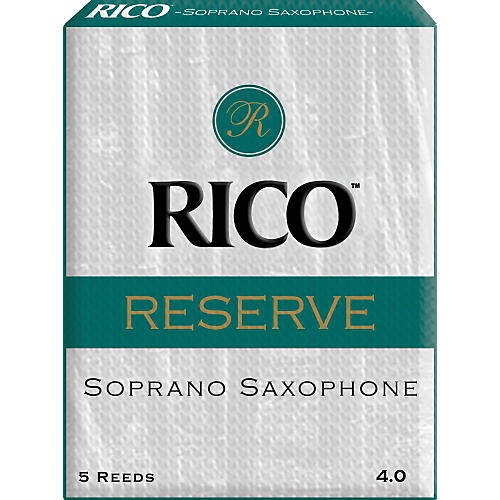 Rico Reserve Soprano Saxophone Reeds Strength 4