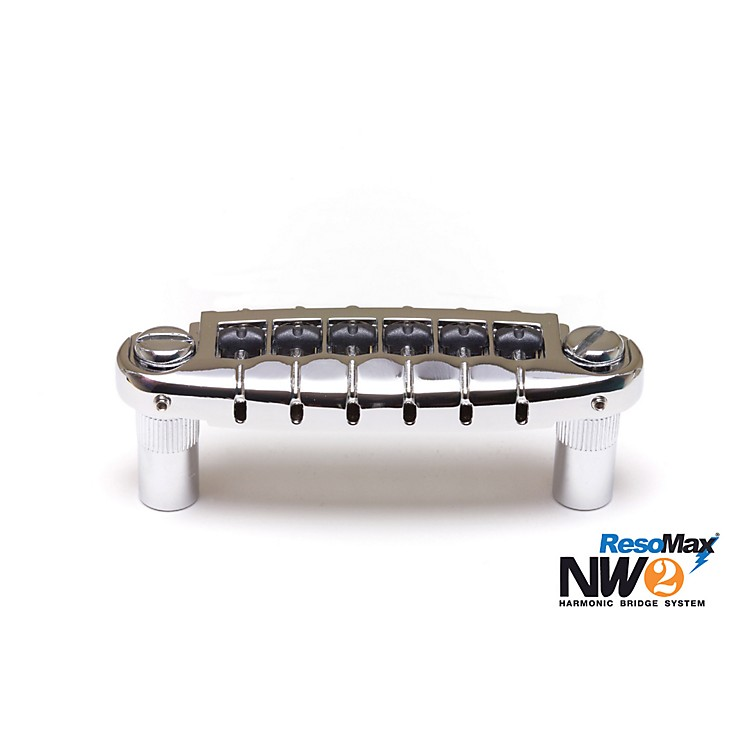 Graph Tech ResoMax NW2 Wraparound Bridge with String Saver Saddles Chrome