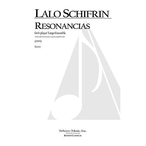 Lauren Keiser Music Publishing Resonancias (for 6-Player Tango Ensemble) LKM Music Series by Lalo Schifrin