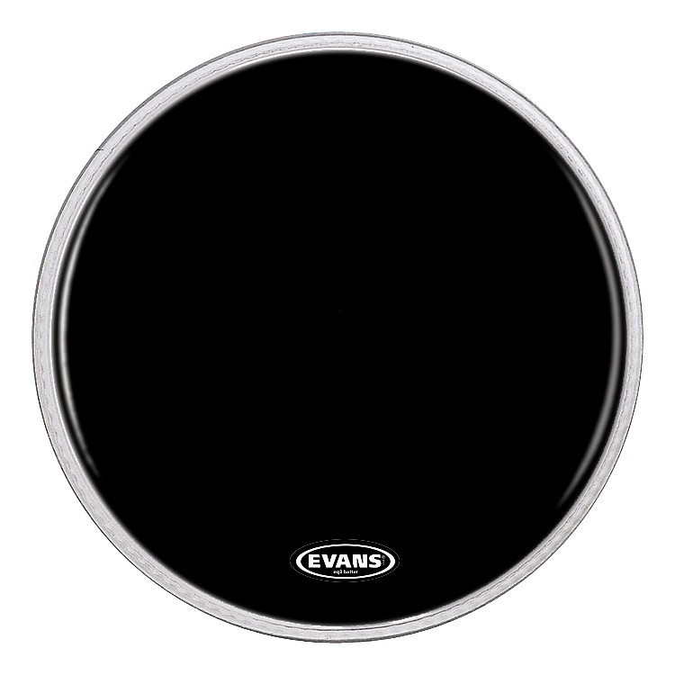 Evans Resonant Black Bass Drumhead  22 Inch