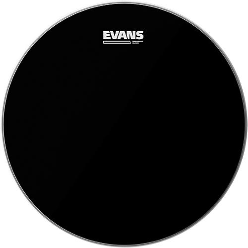 Evans Resonant Black Tom Drumhead  12 in.