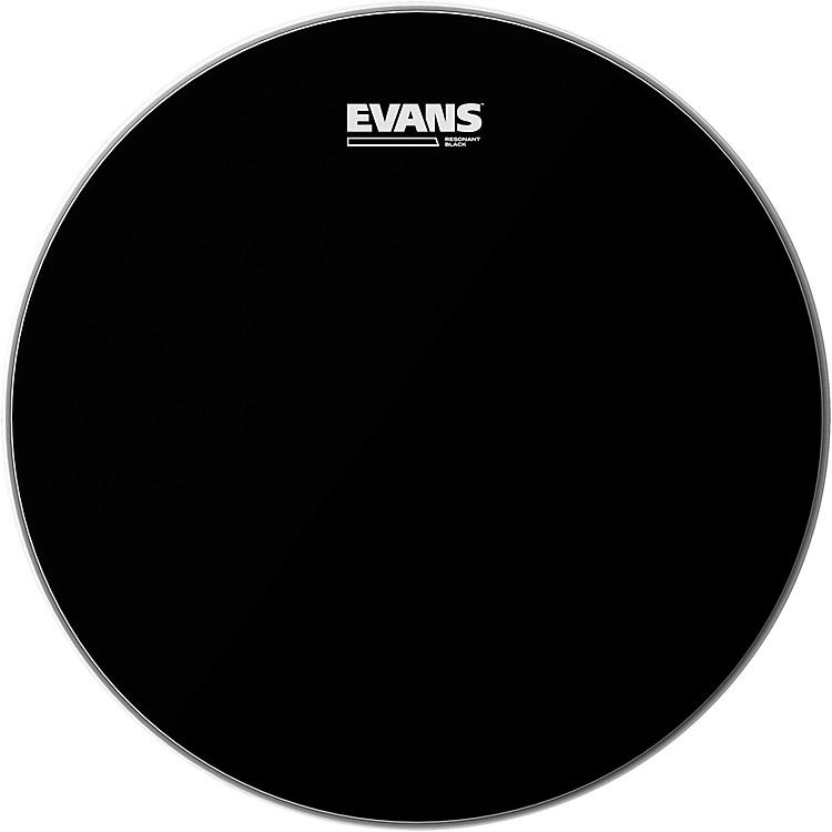 EvansResonant Black Tom Drumhead13 Inches