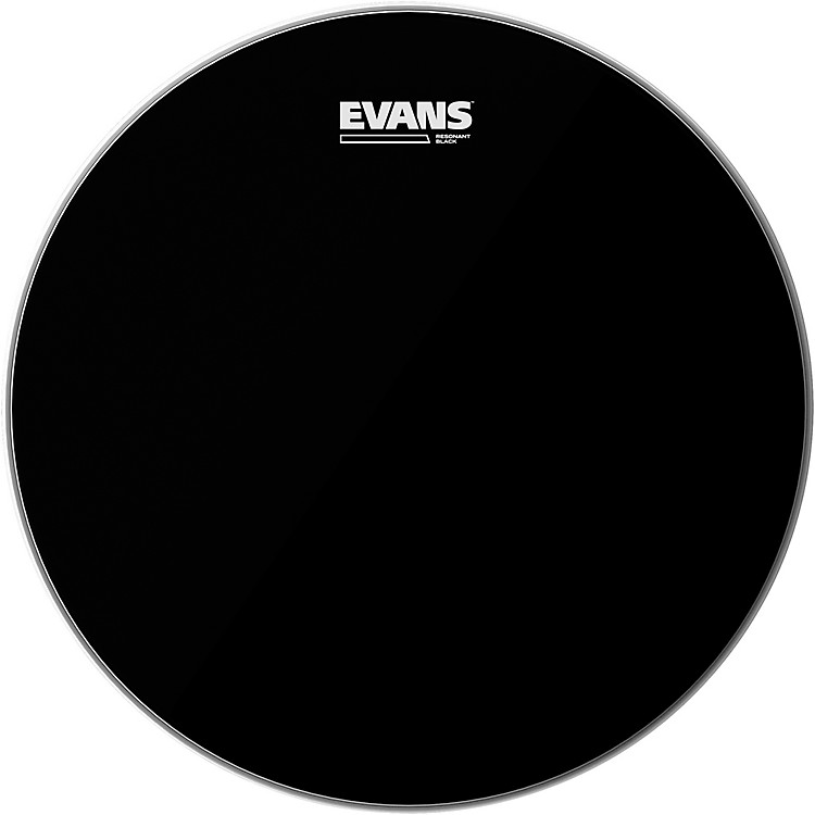 Evans Resonant Black Tom Drumhead  14 Inches