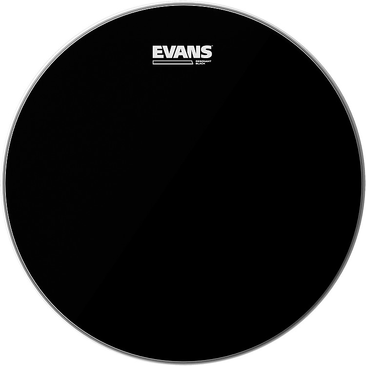 Evans Resonant Black Tom Drumhead  16 Inches