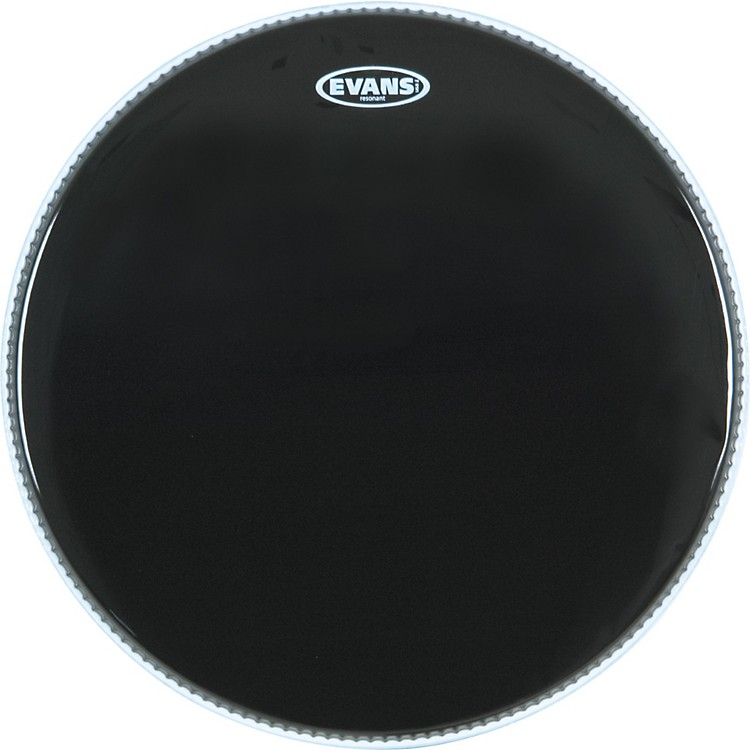 Evans Resonant Black Tom Drumhead  18 Inches