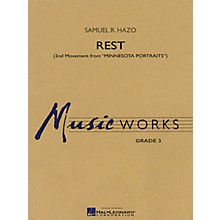 Hal Leonard Rest (2nd Movement from Minnesota Portraits) Concert Band Level 3 Composed by Samuel R. Hazo