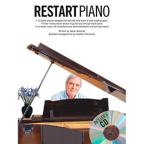 Music Sales Restart Piano Book/CD-thumbnail