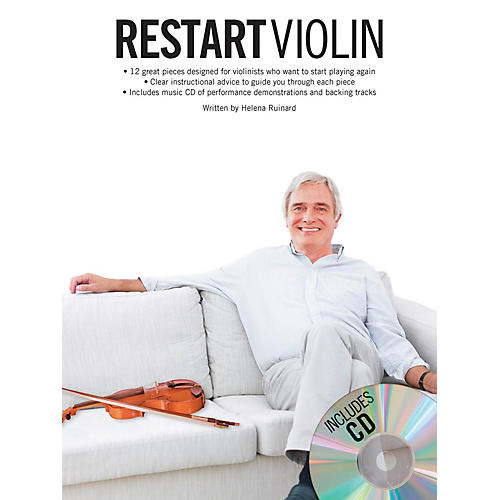 Music Sales Restart Violin Music Sales America Series Softcover with CD Written by Various-thumbnail