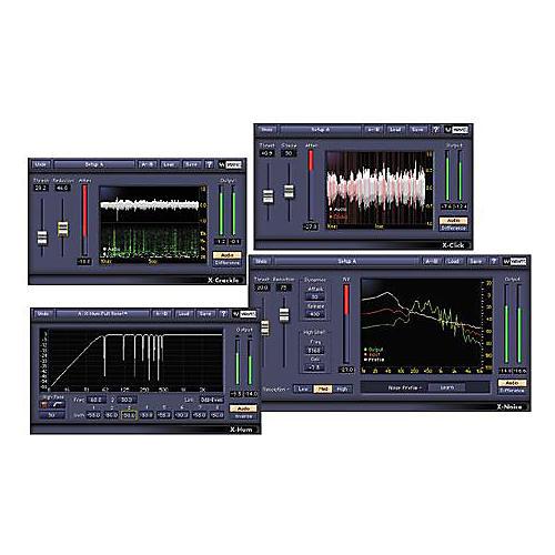 Waves Restoration TDM Plug-In Bundle Hybrid CD Win/Mac