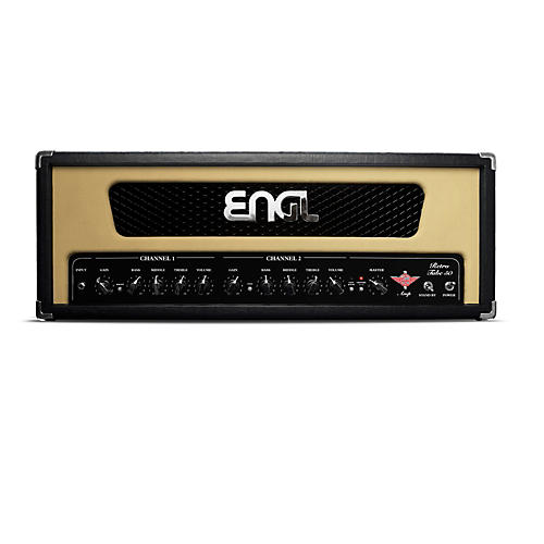 Engl Retro 50 50W Tube Guitar Head Black